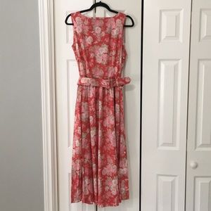 Laura Ashley belted dress